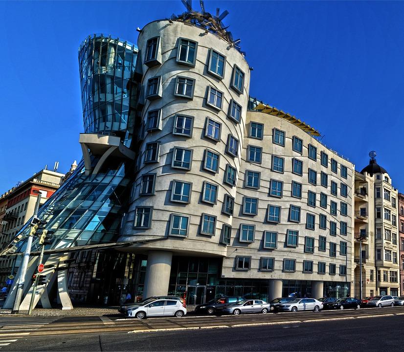 prága táncoló ház